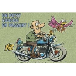 Carte  Motocyclettes timbrées 6